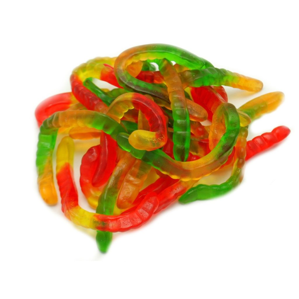 gummy worms:
