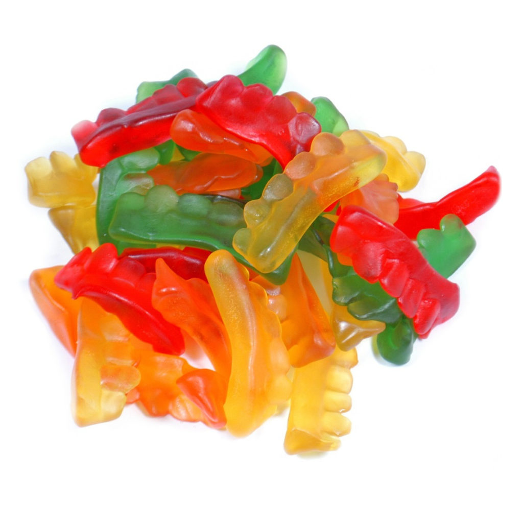 Gummy Assorted Colors Teeth