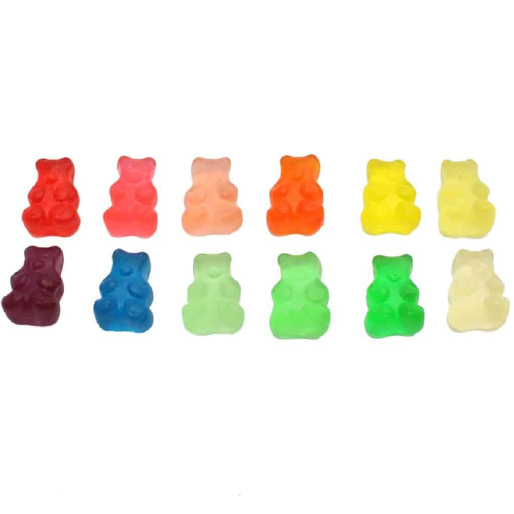 12 Flavor Assorted Gummy Bears