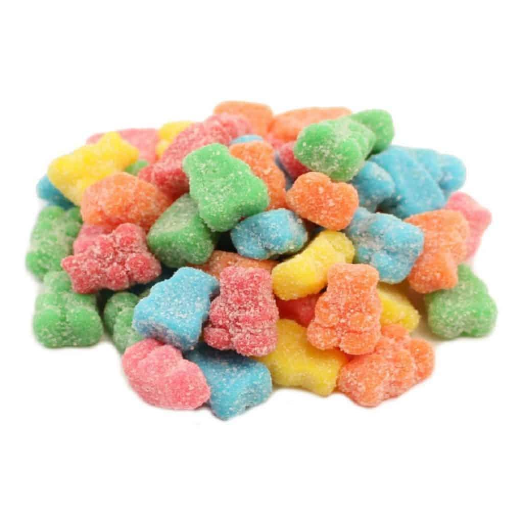Sour Neon Gummy Bear