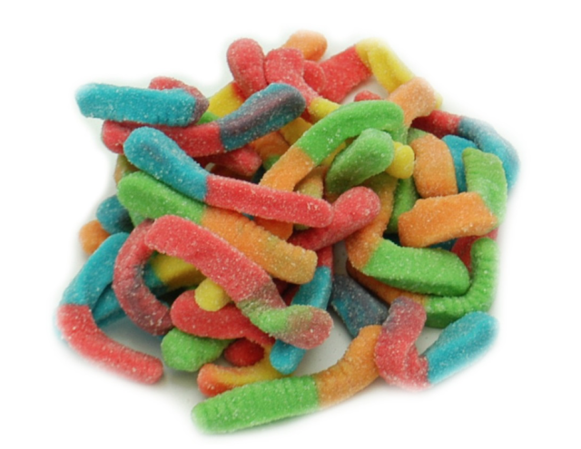 Mini Sour Gummy Worm
